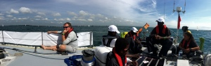 Calm at Cowes
